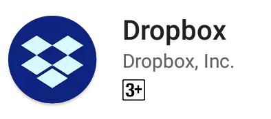 Dropboxのアイコン
