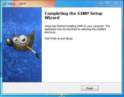 gimp-install-finish