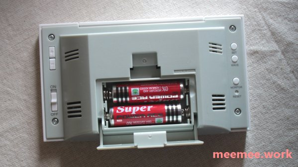 seiko-sq758wに電池を入れる