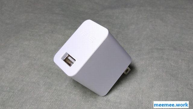 モバイルバッテリーはスマホやタブレットに付属していたAC-USBアダプタで充電ができる