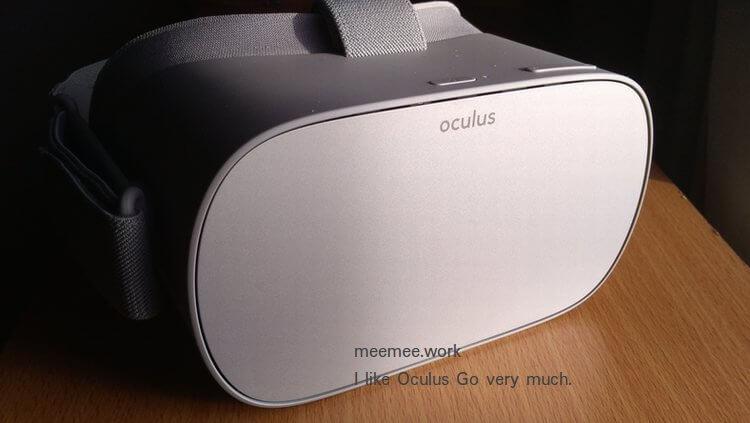hmd-Oculus Goに日本語入力があればいいのにと思う